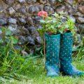 農作業で履く靴 アウトドアミックス【長靴・レインブーツ】