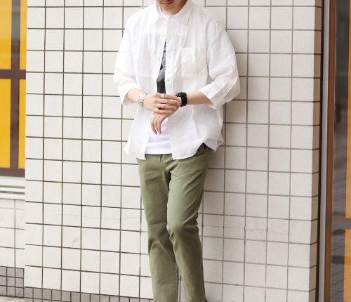 6月服装。初夏のメンズファッションコーデ【東京(本州)と北海道】