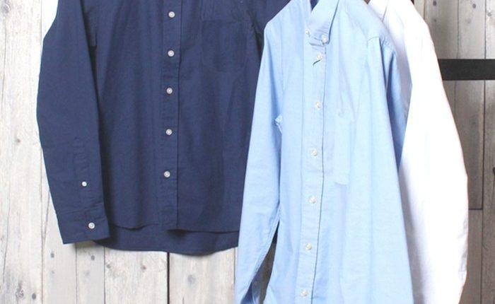 オックスフォードシャツの選び方。生地感、襟、色がポイント